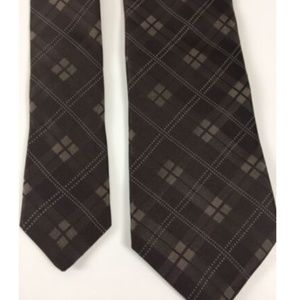 Michael Kors Accessories - Michael Kors Silk Tie Necktie Checks 100% USA Made